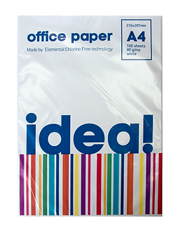 Папір офісний, А4, 80г/м2, 100арк