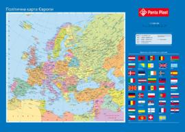 """Підкладка для письма """"Карта Європи"""" 0318-0037-99"""
