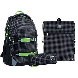Набір рюкзак + пенал + сумка для взуття WK 727