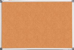 Дошка коркова, 60Х90см, алюмінієва рамка BM.0017