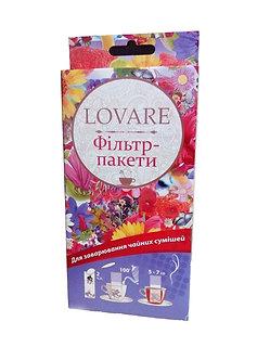 Фільтр-пакети для чаю 7х12см, 100шт, для чашки