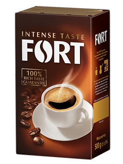 Кава мелена Fort, брікет 500г   ft.11098