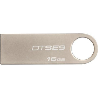 Флеш-пам'ять метал. Kingston DataTraveler (Silver / Champagne) 16GB DTSE9H/16GB