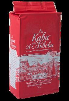 """Кава мелена, 225г , """"Кава зі Львова"""", пакет  prpzl.209"""