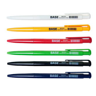 Ручка кулькова автоматична JOBMAX, синя, чорна BM.8205