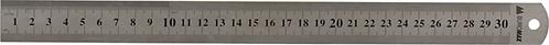Лінійка сталева 30 см BM5810-30
