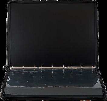 Папка-портфель PROFESSIONAL з 6 кільцями, A2, чорний BM.3190-01
