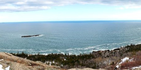 A Weekend of Winter Hiking in Acadia: Day Mountain & Gorham Mountain