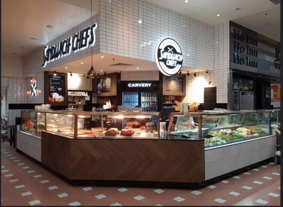 Sandwich Chefs New Store in busy shopping centre, great location and trade zone – Baulkham Hil