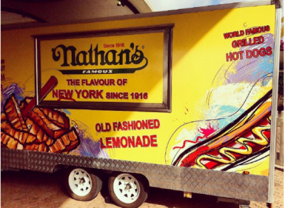 Nathan's Australia Truck Wrap Franchise Opportunity – Riverina NSW