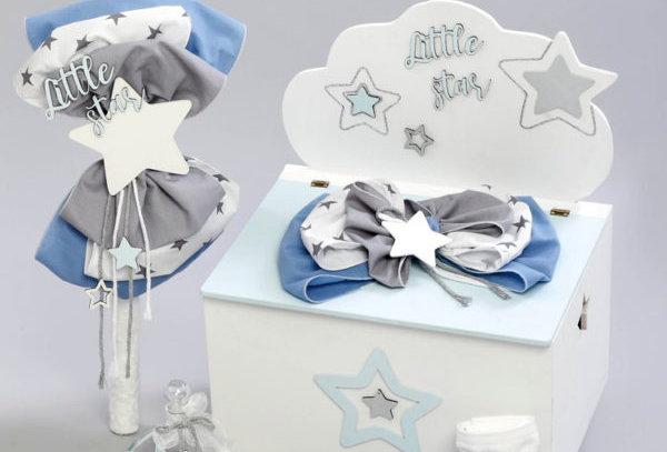 """Σετ βάπτισης για αγόρι """"little star"""""""
