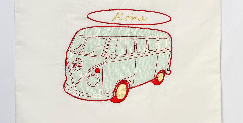 """Λαδόπανα για αγόρι """"Λεωφορείο aloha """""""