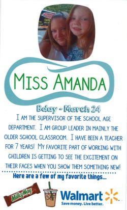 School Age Supervisor