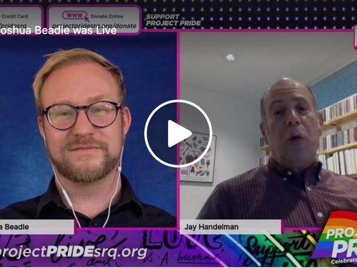 Live Interview with Jay Handelman with Herald Tribune