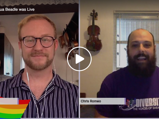 Live Interview with Chris Romeo Artistic Director of Diverity Chorus