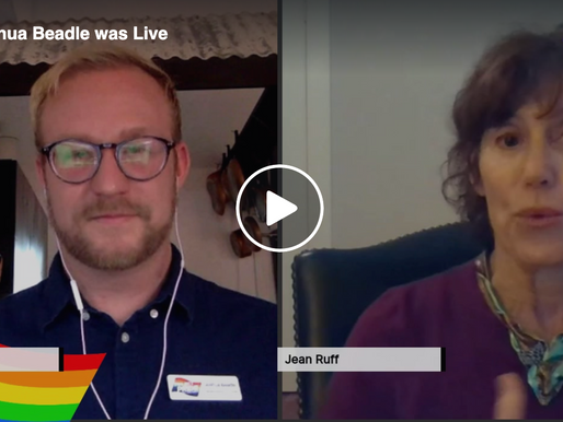 Live Interview with Jean Ruff with Sarasota Speakers Exchange