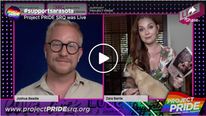 LIVE interview with Zara Barrie, published author and LGBTQ activist.