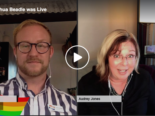 Live Interview with Audrey Jones with OUT with the GRLS