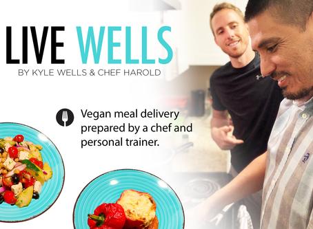 25% OFF FIRST ORDER   Live-Wells.com Vegan Meal Delivery