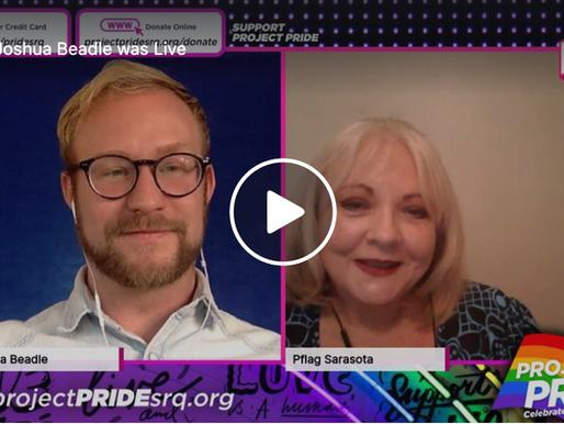 Live Interview with Carol Miller of PFLAG Sarasota