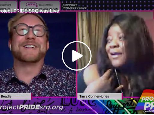 Live Interview with Tarra Conner-Jones, Entertainer
