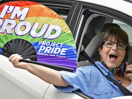 """PRIDE Car Parade"" presented by Project PRIDE"