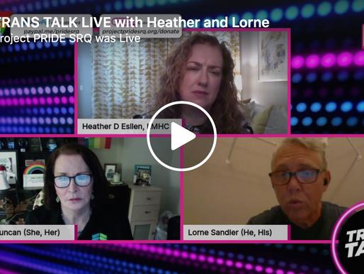 TRANS TALK LIVE! Episode 5