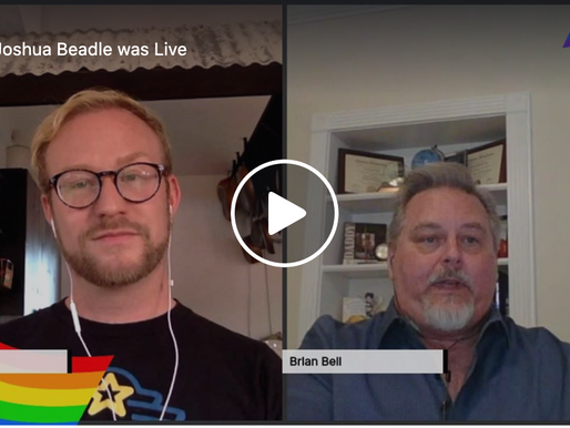 Live Interview with Brian Bell, Business owner, and ally to the LGBTQ community.