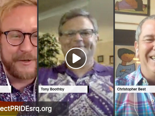 Live interview with Tony Boothby and Christopher Best of Sarasota's LGBTQ Bowling League