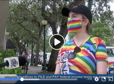 Sarasota hosts city's first pride parade celebration