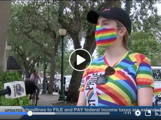 Sarasota hosts city's first pride parade celebration
