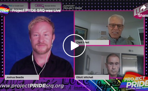 Live Interview with Clark West and Elliott Mitchell, advocates and philanthropists