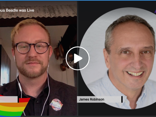Live Interview with James Robinson, New Executive Director of ALSO Youth