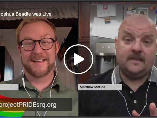 Live Interview with Matthew McGee, Drag queen, actor and overall entertainer
