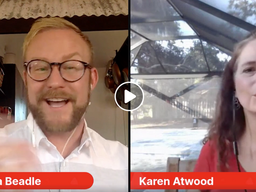 Live Interview with Karen Atwood of Mellow Mushroom