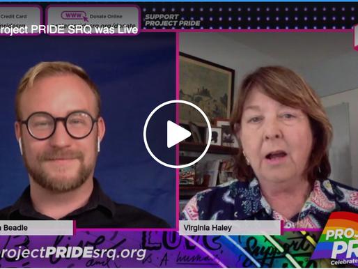 LIVE interview with Visit Sarasota's president, Virginia Haley