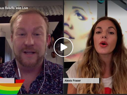 Live Interview with the artist, Lipstick Lex