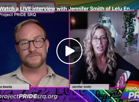 Watch a LIVE interview with Jennifer Smith of Lelu Enterprises.