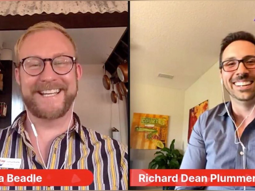 Live Interview with Richard Dean Plummer of Richard Dead Insurance