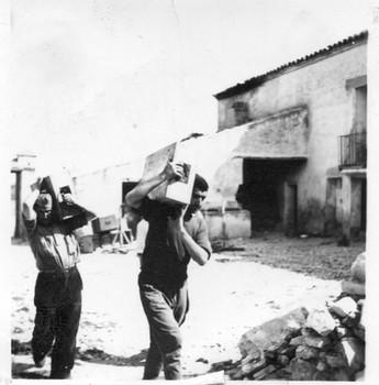 Milicianos. Fotografía adquirida en TodoColección