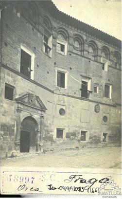 Arxiu Mas. 1917. Casa de Junqueras S.XVI
