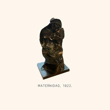 Maternidad, 1922. Museo Pablo Gargallo.