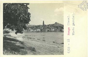 Arxiu Mas. 1925. Vista parcial. Riu Cinc