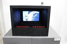 Maqueta del cine Florida. Exposición Día de la Faldeta. Transmitiéndo la cultura de un pueblo. Fraga (Huesca)