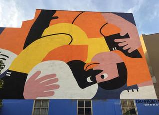 ASALTO a las Fuentes. Botes de pintura, barrio y cultura.
