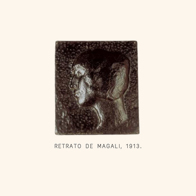 Retrato de Magali 1913. Museo Pablo Garg