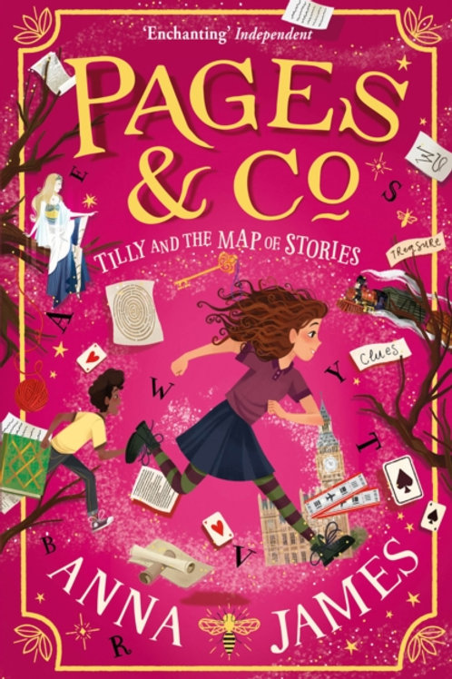 Pages and Co.: Tilly and the Map of Stories - Anna James