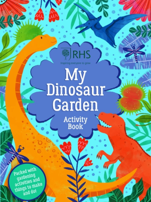 My Dinosaur Garden Activity Book - Emily Hibbs