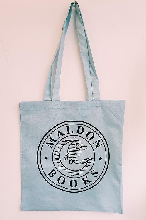 Blue Maldon Books Tote Bag
