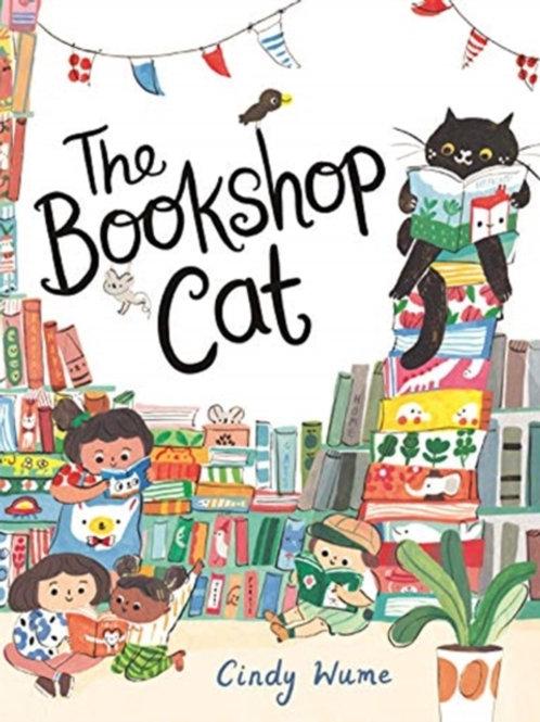The Bookshop Cat - Cindy Wume